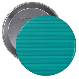 Simple Stripes Textured Look Green 10 Cm Round Badge