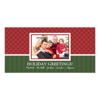 Simple Style Christmas Family Photo Cards