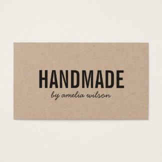 Simple Stylish Rustic Handmade Kraft
