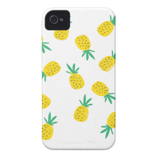 Simple summer pineapple cartoon pattern iPhone 4 case