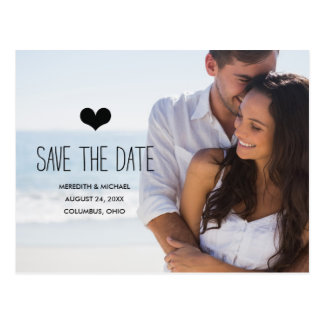 Simple & Sweet | Photo Save the Date Post Cards