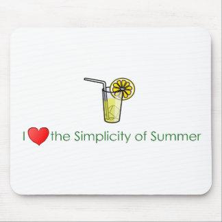 Simple Taste of Summer Mouse Pad