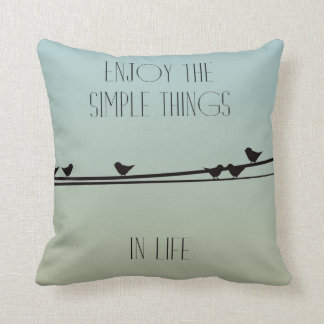 Simple Things Birds Cushion