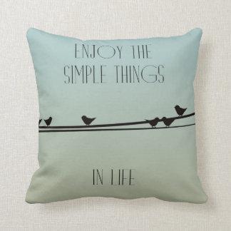 Simple Things Birds Cushions