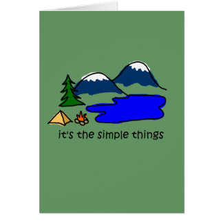 Simple Things - Camping Cards