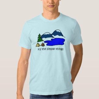 Simple Things - Camping T-shirt