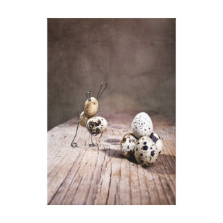 Simple Things - Easter Stretched Canvas Print