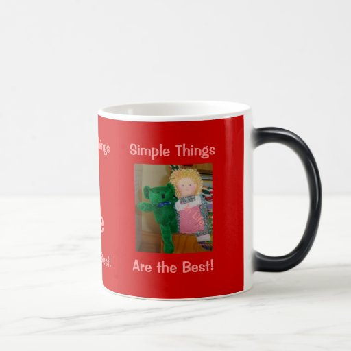 Simple things in life Morphing Mug