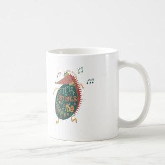 Simple Things Make Me Happy Basic White Mug