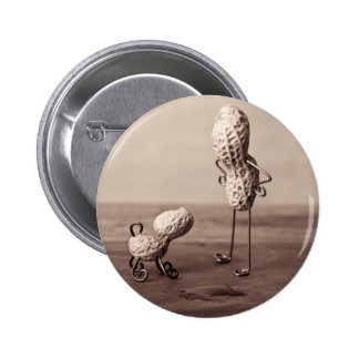 Simple Things - Man and Dog 6 Cm Round Badge