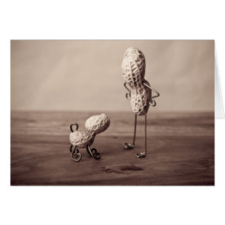 Simple Things - Man and Dog Greeting Card