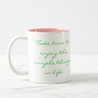 Simple Things Mug Coffee Mug