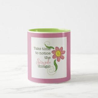 Simple Things Two-Tone Coffee Mug
