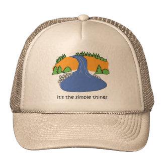 Simple Things - Waterfall Mesh Hats