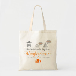 Simple Tote - Educate. Advocate. Legislate.