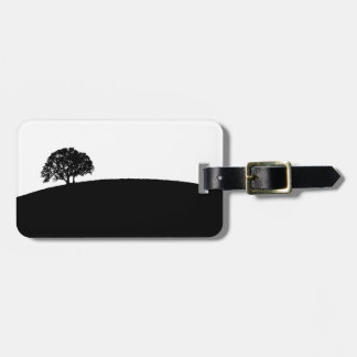 Simple Tree Luggage Tag