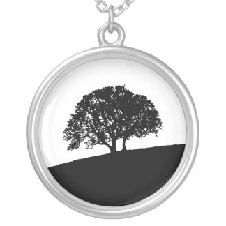 Simple Tree Necklace