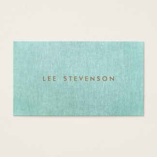 Simple, Turquoise Blue, Stylish Minimalist
