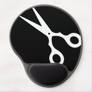Simple Vector Scissors (Pick Your Own Color) Gel Mouse Pad
