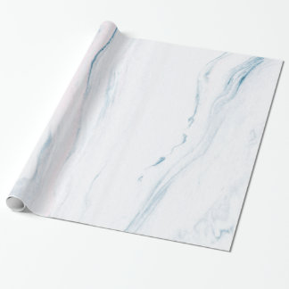 Simple White Marble Stone Wrapping Paper