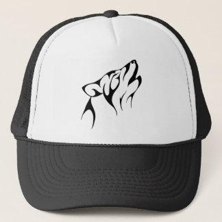 Simple Wolf Howl Trucker Hat