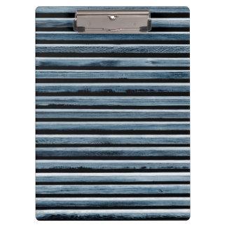 Simple Wood Stripe Pattern Clipboard