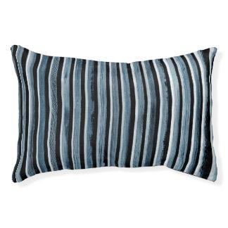 Simple Wood Stripe Pattern Pet Bed