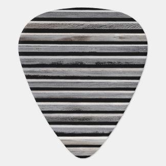 Simple Wood Stripe Pattern Plectrum
