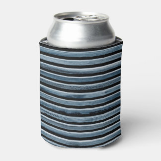 Simple Wood Stripes Can Cooler