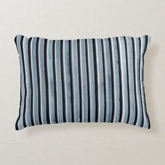 Simple Wooden Stripes Decorative Cushion