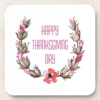 Simple yet Elegant Happy Thanksgiving | Coaster