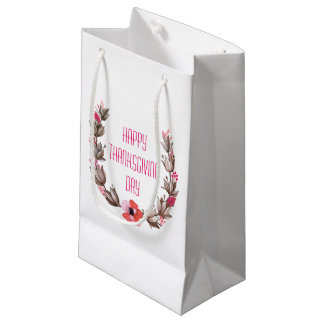 Simple yet Elegant Happy Thanksgiving | Gift Bag