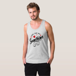 Simple You Are My Sunshine Valentine | Tank Top