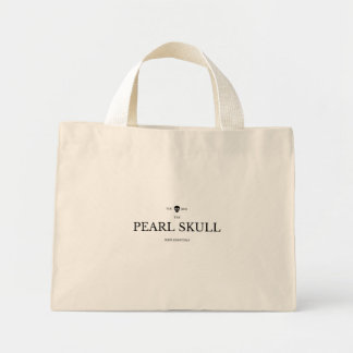 Simplessential Weekend Tote -- The PearL Skull