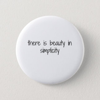 Simplicity 6 Cm Round Badge