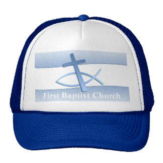 Simplicity Blue Church Hat