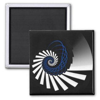 Simplicity Blue Magnet
