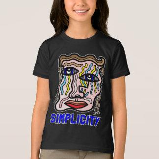 """Simplicity"" Girls' American Apparel T-Shirt"