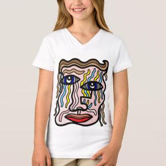 """Simplicity"" Girls' V-Neck T-Shirt"