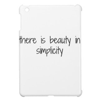 Simplicity iPad Mini Case