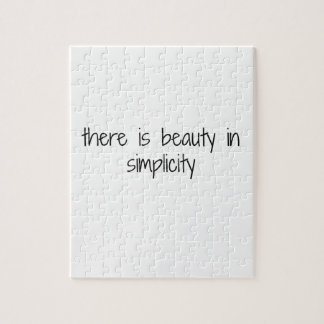 Simplicity Jigsaw Puzzle