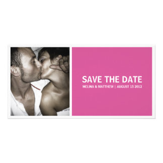 SIMPLICITY | SAVE THE DATE ANNOUNCEMENTS PERSONALISED PHOTO CARD