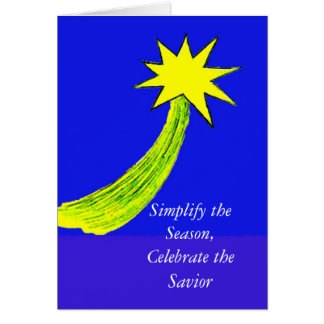 Simplify the Season Greeting Card