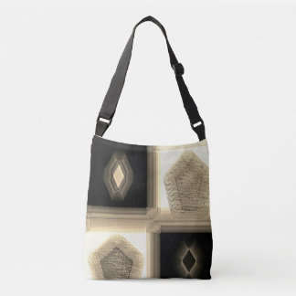 """Simplistic in Neutral"" Cross Body Tote Bag"