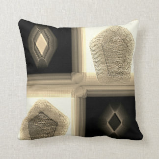 """""""Simplistic in Neutral""""  Polyester Throw Pillow"""
