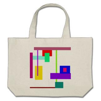 Simplistic Minimal Art Design Tote Bag