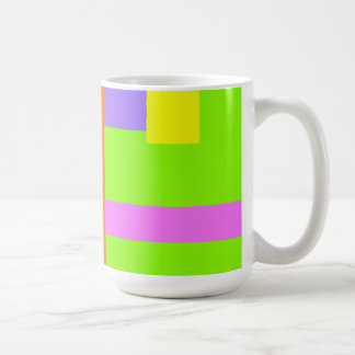 Simplistic Minimal Design Green Field Coffee Mug