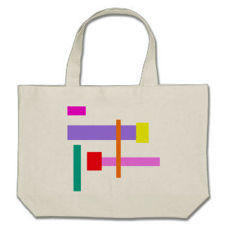 Simplistic Minimal Design Pink Bag