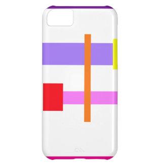 Simplistic Minimal Design Pink iPhone 5C Case
