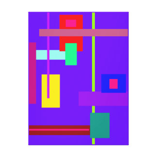 Simplistic Minimal Wall Art Stretched Canvas Print